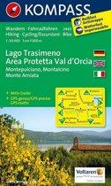 Kompass WK2463 Lago Trasimeno, Areo Protetta Val d'Orcia