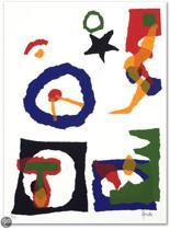 Ad van Hassel Schilderij Zeefdruk 'Zonder titel' (40x50)