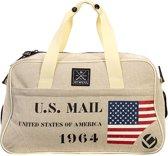 Brabo  Post Deluxe US Mail schoudertas