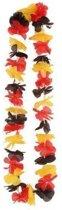 6 Hawaii kransen rood/geel/zwart