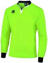 Keepersshirt Errea Eloy - Unisex - Lange mouw - Fluor Groen/Zwart - Maat XXL