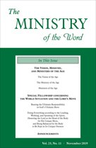 The Ministry of the Word, Vol. 23, No. 11