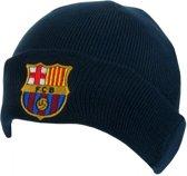 FC Barcelona - Muts omslag - Volwassenen - Navy