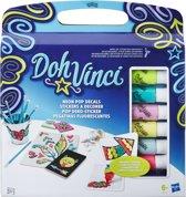 DohVinci Neon Sticker Set - Klei