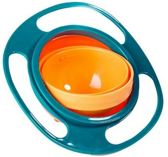 Eet bakje baby   kom   eetbak   360 graden   draaiend   anti knoei   baby   peuter   kinderen   groen   oranje