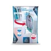 LaundrySpecialist® Handige vacuüm opbergzakken met haak 70x100 cm - set van 4