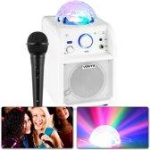 Vonyx accu 50W karaoke set SBS50W met Bluetooth, lichteffect, microfoon en echo