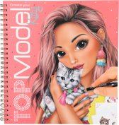 TOPModel Create your Kitty kleurboek met stickers