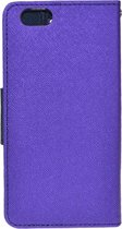 Let op type!! Cross Texture Horizontal Flip Leather Case Cover with Credit Card Slots for iPhone 6(Purple)