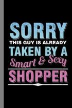 Smart & Sexy Shopper: Shopping Gift For Shopaholic (6''x9'') Lined Notebook To Write In