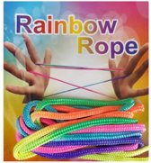 Rainbow rope (3x regenboog touw) 3x magic rope