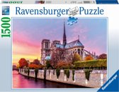 Ravensburger Pitoreske Notre Dame- Puzzel van 1500 stukjes