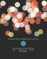 Introduction to Data Mining: Pearson  International Edition