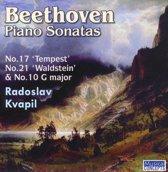 Beethoven: Piano Sonatas No. 17 'Tempest', No. 21 'Waldstein' & No. 10 G major