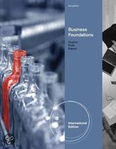 Business Foundations, International Edition