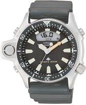 Citizen Promaster Aqualand JP2000-08E - Horloge - Rubber - Zwart - 44 mm