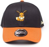 Pokémon - Eevee Curved Bill Cap - Black