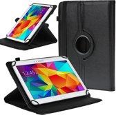 Universele Tablet Hoes voor 10 inch Tablet - 360° draaibaar - Zwart