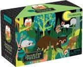 Mudpuppy Glow In Dark Puzzel Het Bos