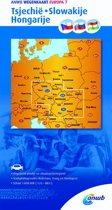 ANWB wegenkaart - Tsjechië-Slowakije-Hongarije