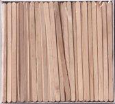 roerstaafje hout - 139 x 7 x 2 mm - 500 stuks