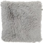 Dutch Decor Kussenhoes KH Fluffy 45x45 cm mist