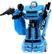 Toi-toys Roboforces Transformation Robot Blauw 18 Cm