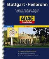 ADAC StadtAtlas Stuttgart, Heilbronn 1:20 000