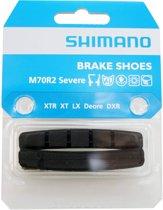 Shimano Remblokrubbers M70r2 V-brake 72 X 12 Mm Zwart
