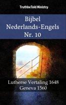 Parallel Bible Halseth 1399 - Bijbel Nederlands-Engels Nr. 10