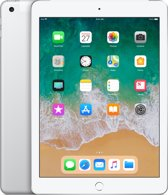 Apple iPad (2018) - 9.7 inch - WiFi + Cellular (4G) - 128GB - Zilver