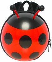 Peuterrugzak Lieveheersbeestje (Rood-Tuigje)