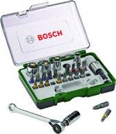 Bosch Schroefbit & ratelset - 27 delig