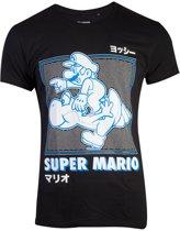 Nintendo - Super Mario Running Yoshi Men s T-shirt - S