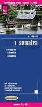 Reise Know-How Landkarte Indonesien: Sumatra