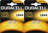Duracell LR44 AG13 Knoopcel Batterij - 2 x 2 blister
