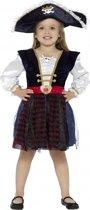Luxe piraten jurkje voor meisjes 145-158 (10-12 jaar)