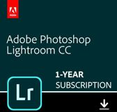 Adobe Lightroom CC - 1 Apparaat - 1 Jaar - 1TB Cloudopslag - Nederlands / Engels - Windows / Mac Download