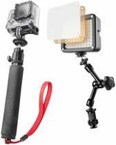 mantona belichtingsset Selfie voor GoPro