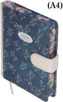 D1309-1 Dreamnotes notitieboek liefde 17,5 x 25 cm blauw