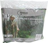 Poncho - Camouflage - Legerprint - Herbruikbaar - Hoogwaardige Kwaliteit