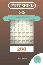 Futoshiki Puzzles - 200 Master Puzzles 6x6 Vol.4
