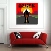 Blues Canvas Art 80/80cm