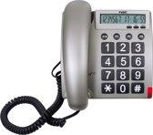 Fysic FX-3300 - Vaste senioren telefoon - Grijs