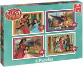 Disney's Elena of Avalor 4 in 1 - Set van 4 puzzels met 12, 20, 30 en 36 stukjes