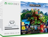 Xbox One S console 500 GB + Minecraft