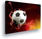 Football Canvas Print 100cm x 75cm