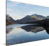 De wateren van het Nationaal park Snowdonia Canvas 90x60 cm - Foto print op Canvas schilderij (Wanddecoratie woonkamer / slaapkamer)