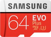 Samsung Evo plus Micro SD 64GB - met adapter