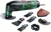 Bosch PMF 190 E Multitool Oscillerend 190 Watt Inclusief uitgebreide accessoireset en koffer